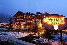 golfhotel di notte